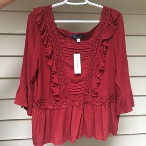 Francesca's Blouse- New With Tags!